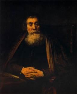 Comenio ritratto da Rembrandt